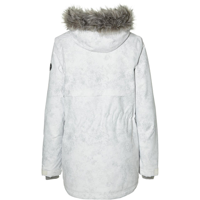 Cluster III Jacket - Grey Aop With White