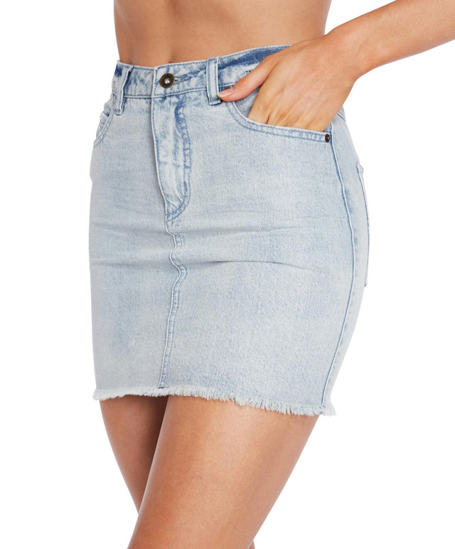 Jasmine Mini Skirt - Light Blue