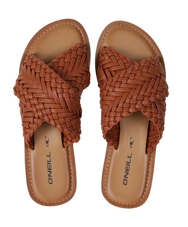 Palm Springs Sandal - Brown