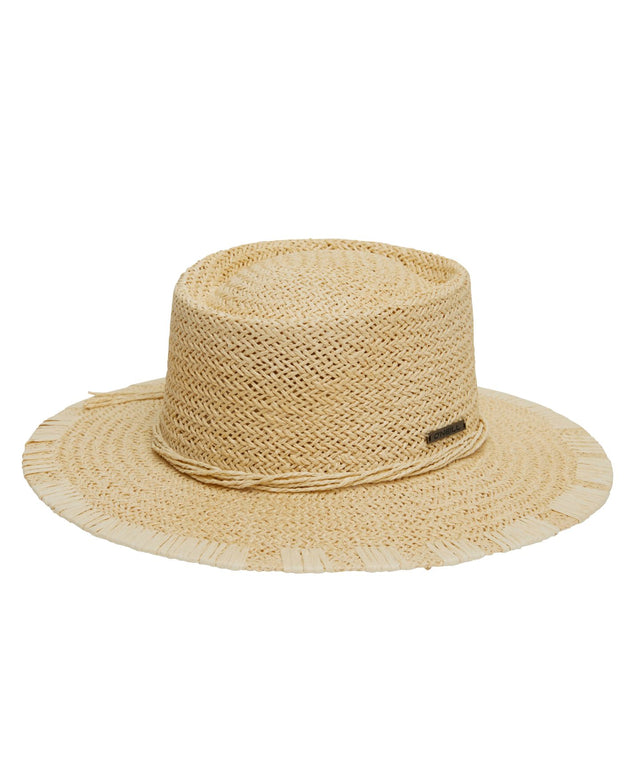 Abroad Hat - Natural