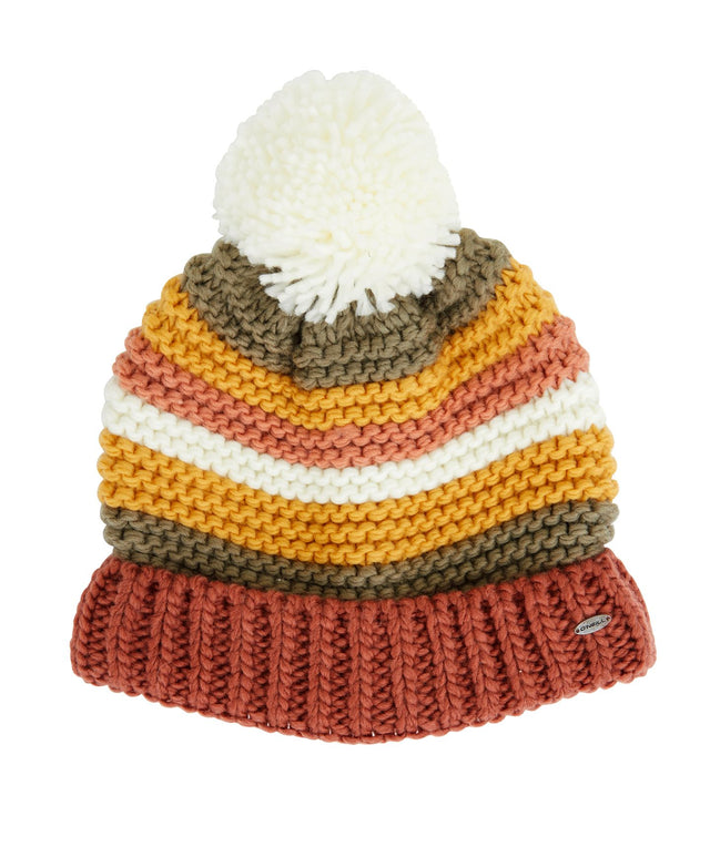 Landers Beanie - Earth Stripe