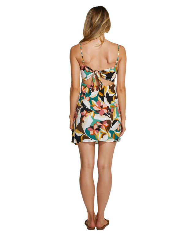 Blaire Mini Dress - Multi Coloured