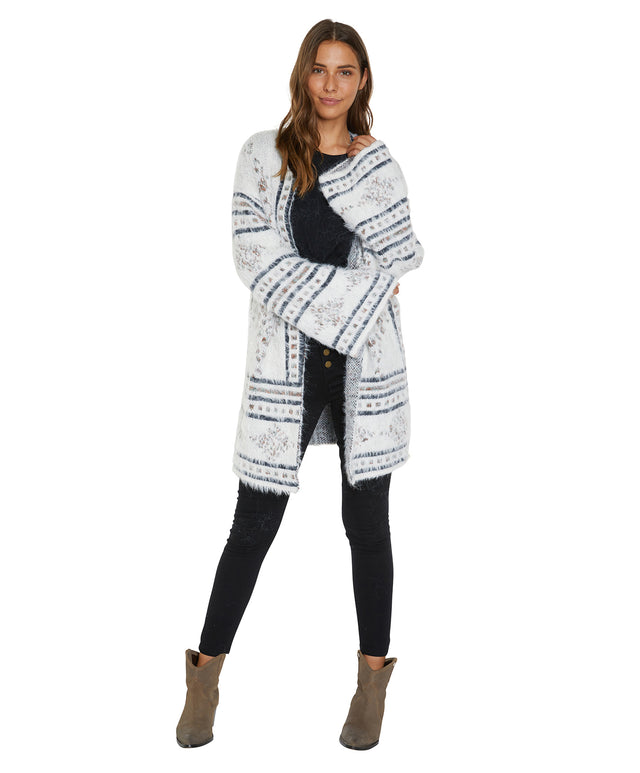 Avalon Knitted Cardigan - Multi