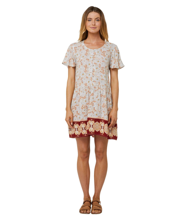 Carven Mini Dress - Earth Floral