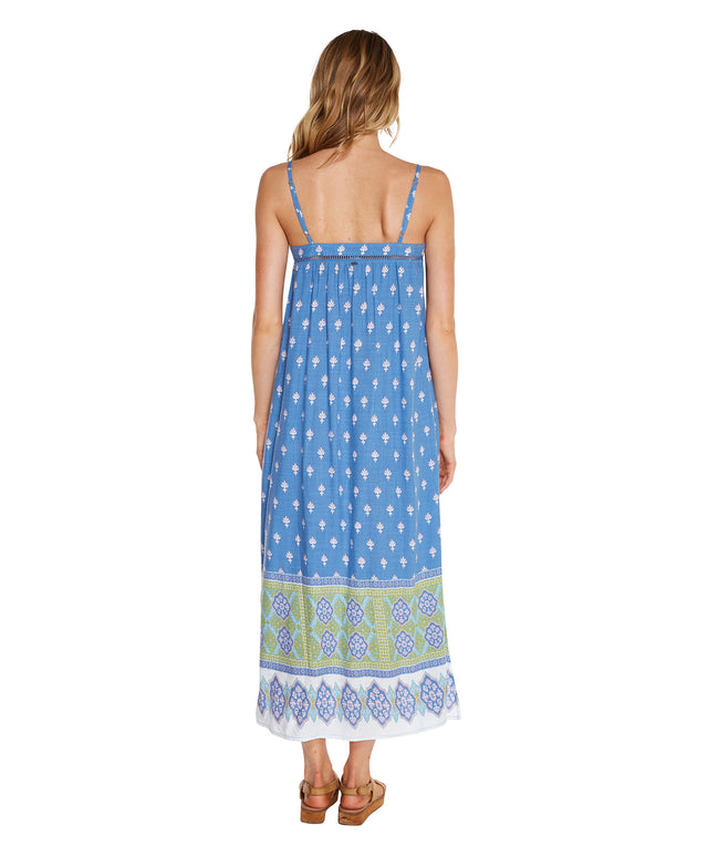 Reef Midi Dress - Denim Fleur
