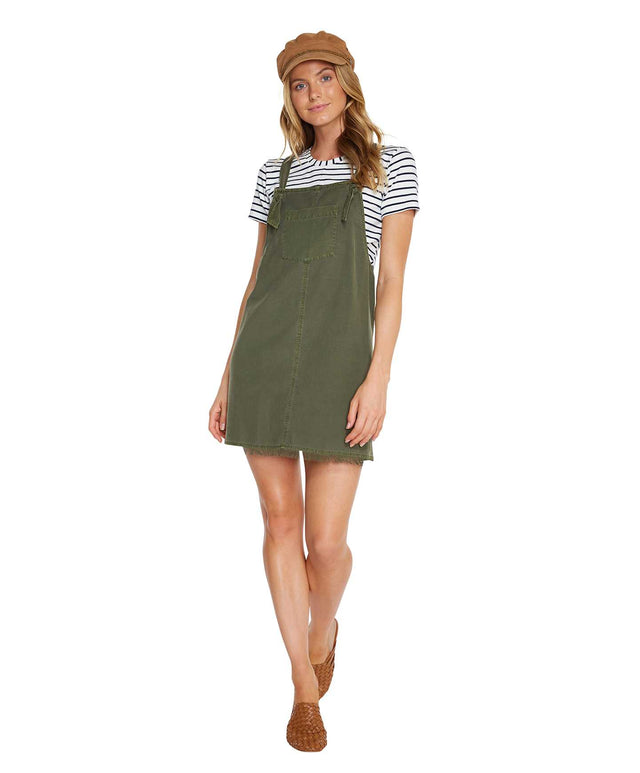 Daytripper Dress - Washed Ivy
