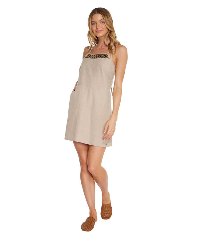 Mackenzie Mini Dress - Fawn