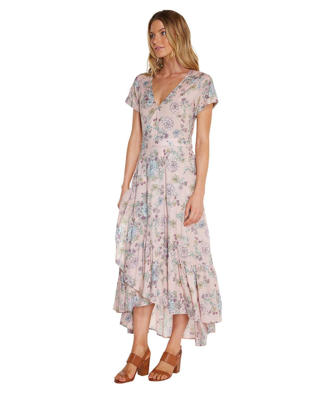 Vista Maxi Dress - Blush Floral