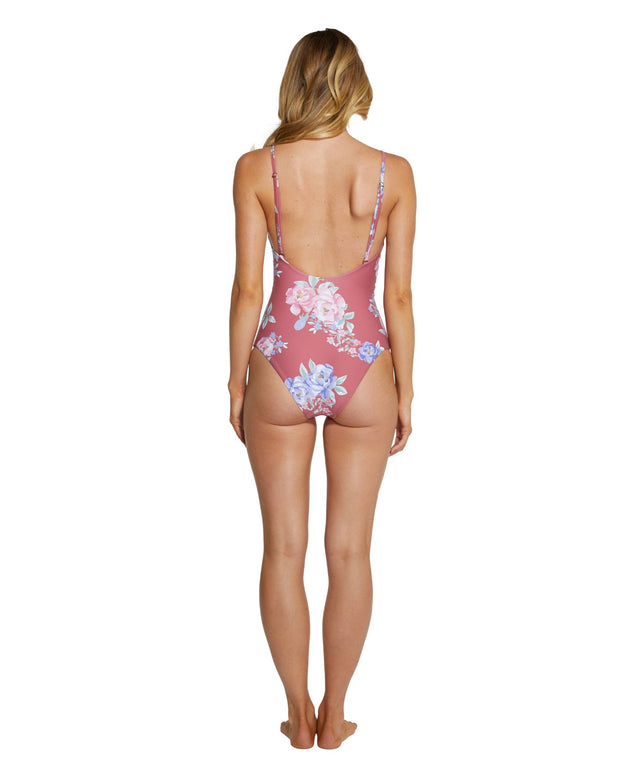 Finch One Piece Swimsuit - Rose Floral