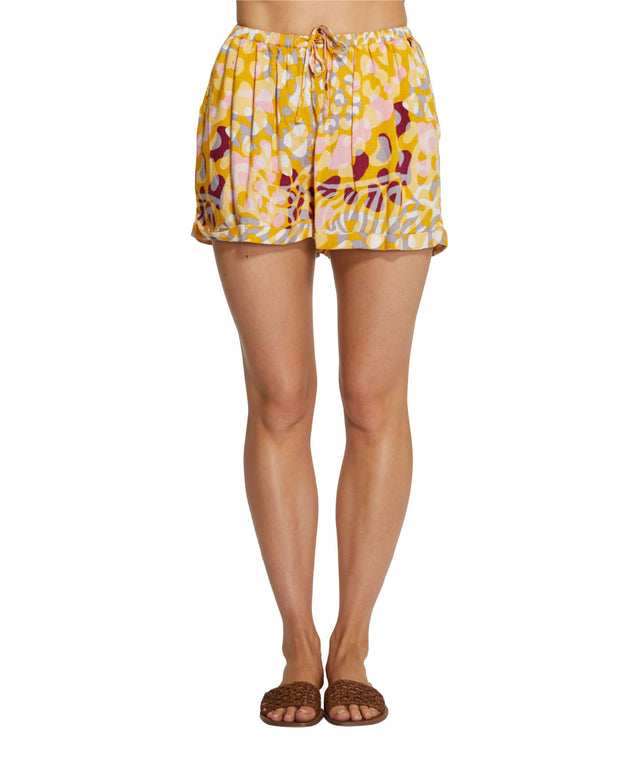 Freedom Shorts - Mustard Multi