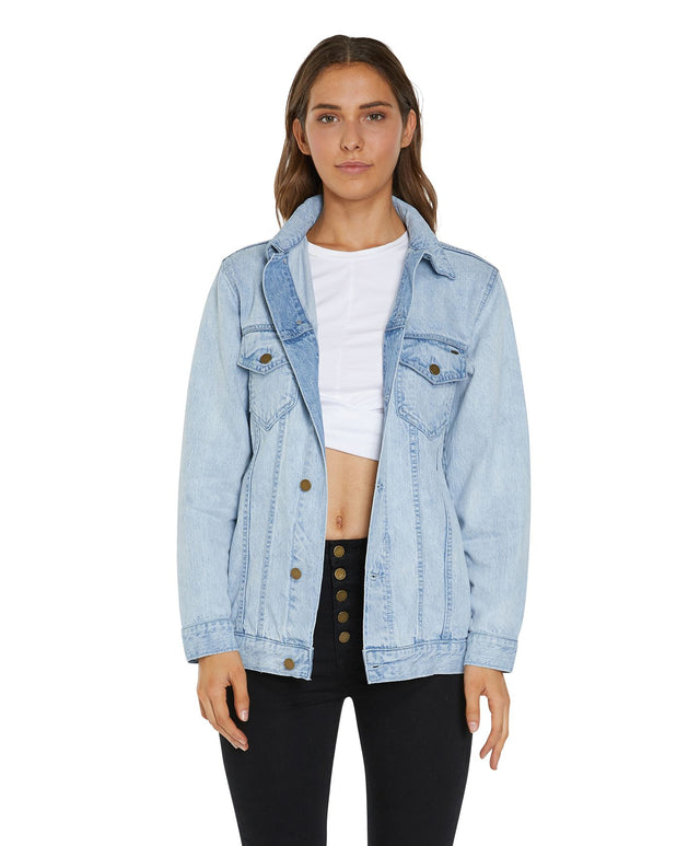 Crestview Jacket - Washed Denim