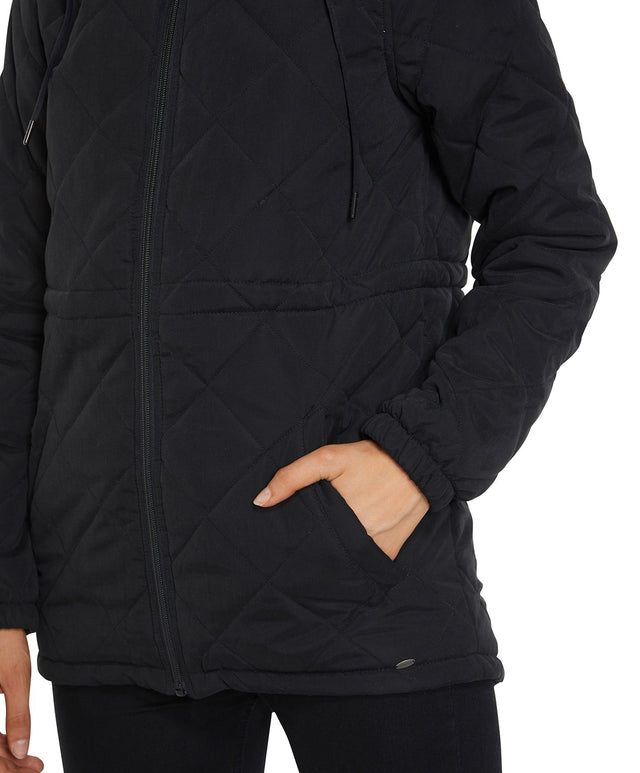 Sunfair Puffer Jacket - Black