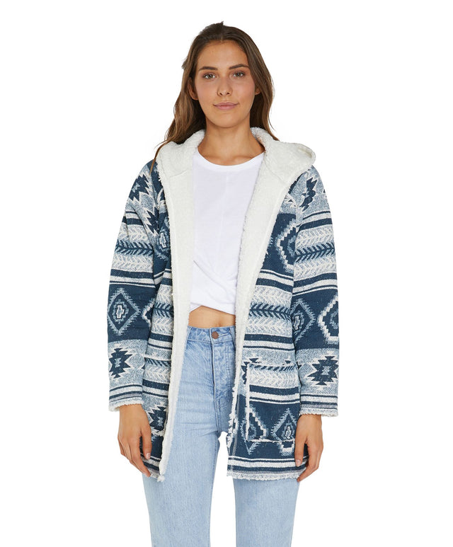 Wilton Jacket - Navy Aztec