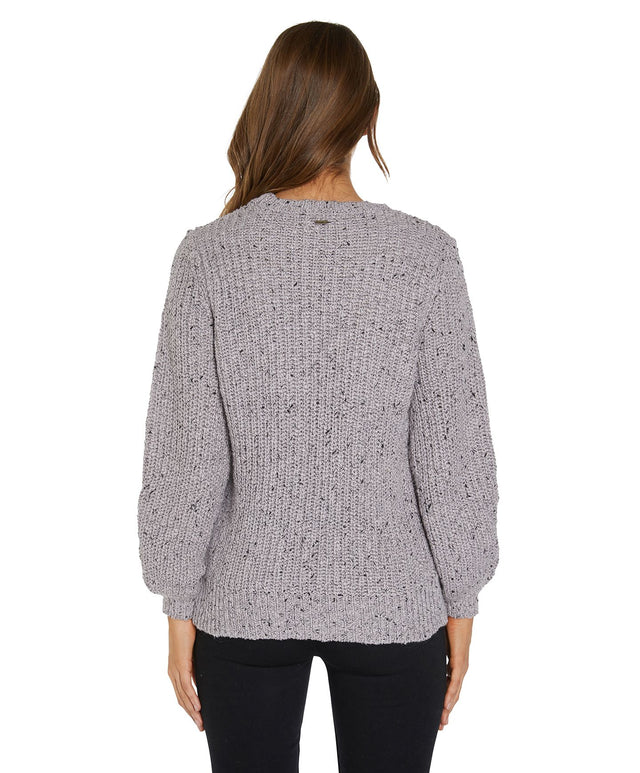 Sailaway Knitted Jumper - Grey Fog