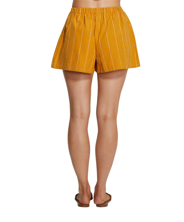 Mayflower Shorts - Goldie Stripe