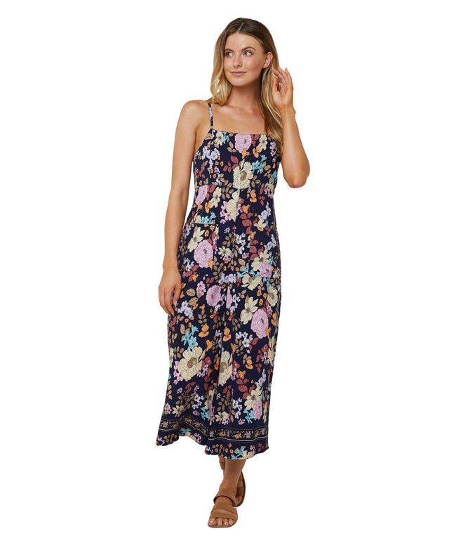 Montana Jumpsuit - Navy Poppy
