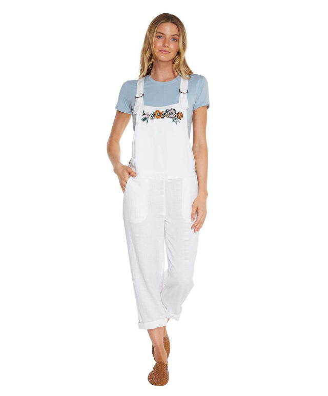 Santiago Jumpsuit - White Out