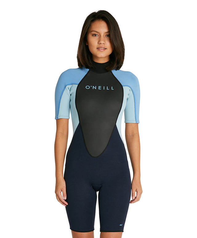 Womens Reactor II 2mm Spring Suit Wetsuit - Abyss