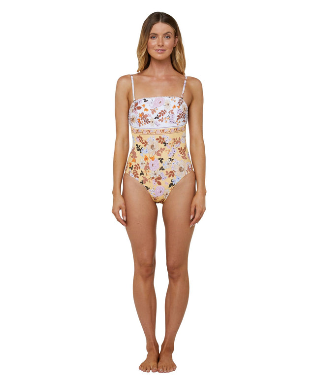 Juniper One Piece Swimsuit - Sunshine Floral