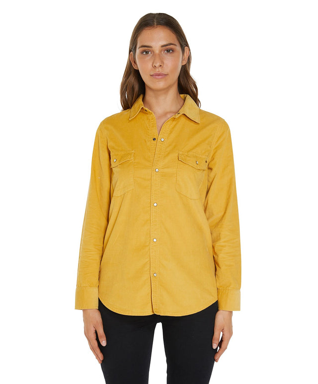 Cottonwood Long Sleeve Shirt - Golden Sun
