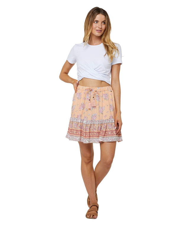 Carrow Mini Skirt - Sherbet Floral