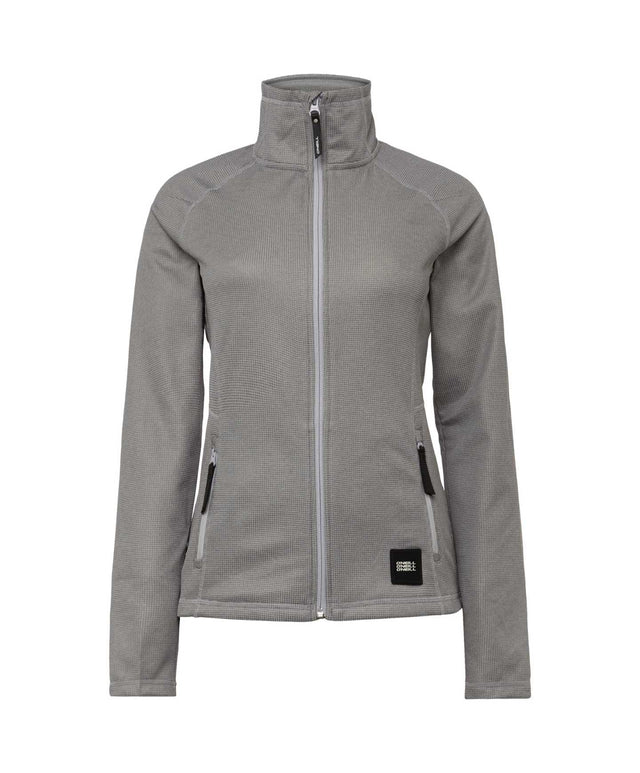Womens Athmos Snow Fleece - Silver Melee