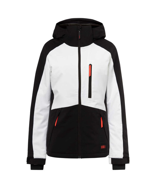 Womens Aplite Snow Jacket - Black Out