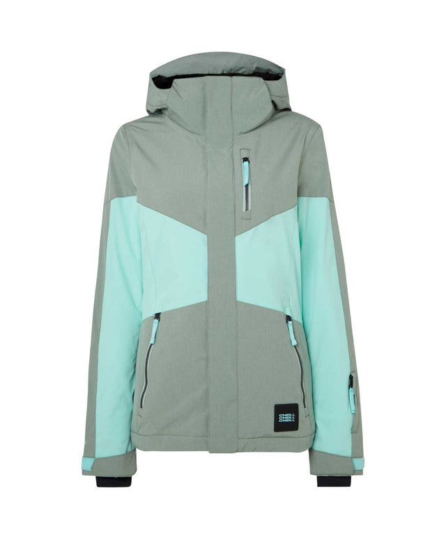 Womens Coral Snow Jacket - Lily Pad