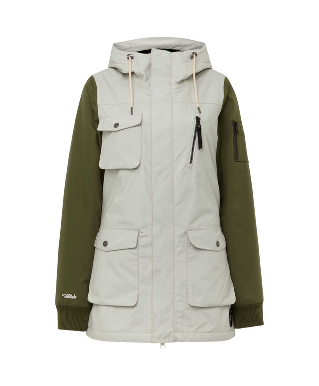 Womens Cylonite Snow Jacket - Opaline