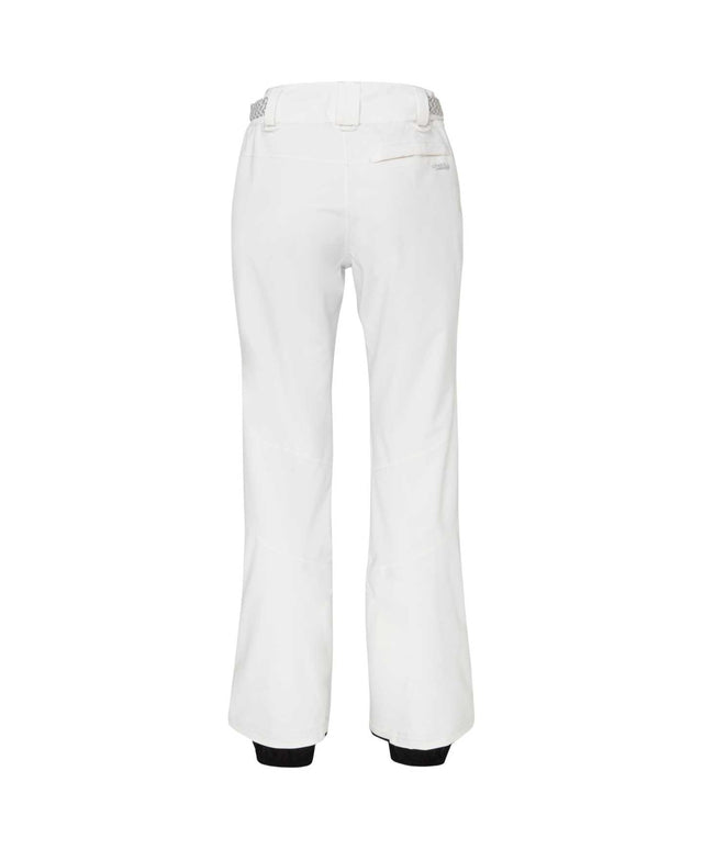 Womens Star Slim Snow Pant - Powder White