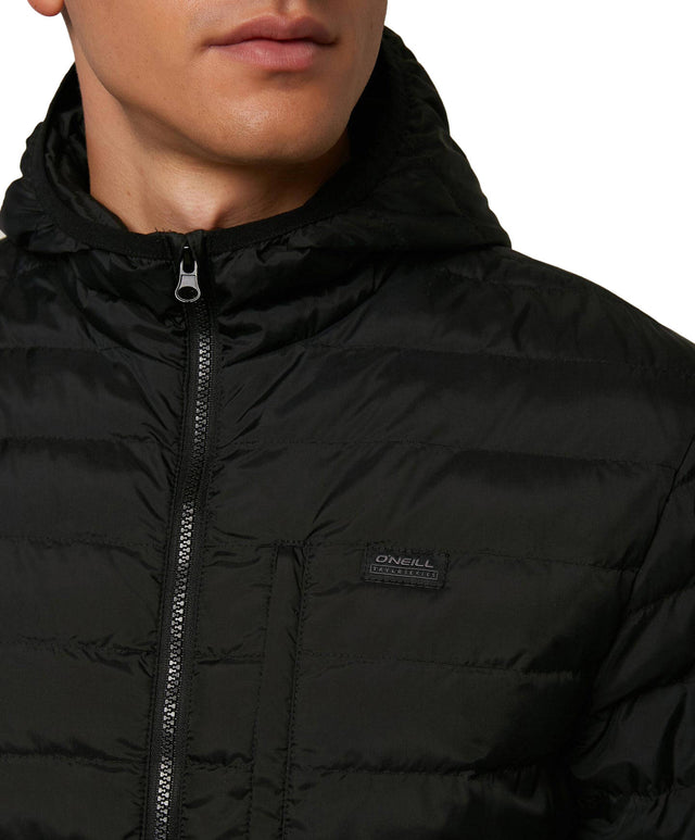 Alder Packable Jacket - Black