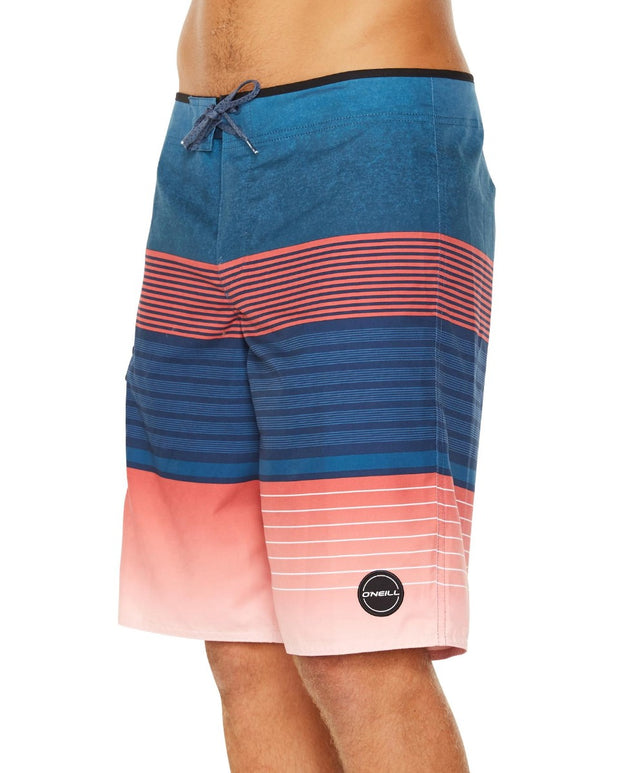 High Punts Boardshort - Red/Navy
