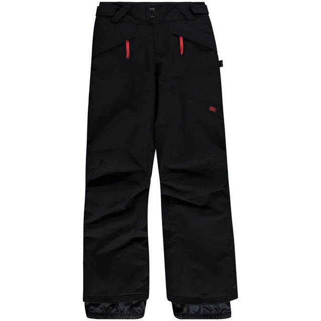 Boys Anvil Snow Pants - Black Out