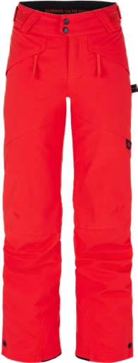 Boys Anvil Snow Pants - Fiery Red