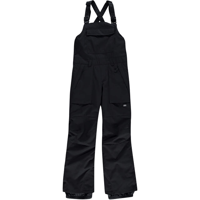 Boys Bib Snow Snow Pants - Black Out