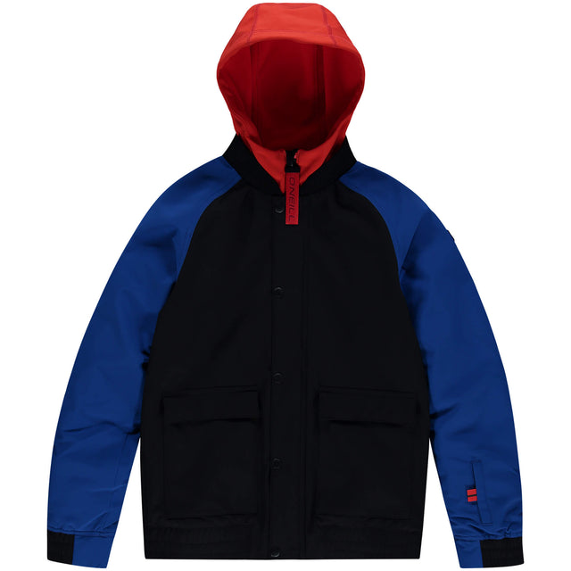Boys Decombe Bomber Snow Jacket - Black Out