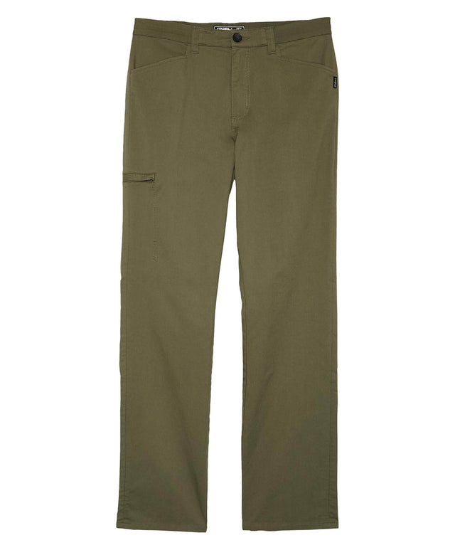 Escapade Hybrid Pant - Military Green