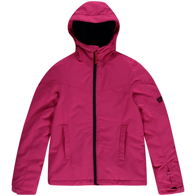 Girls Adelite Snow Jacket - Cabaret