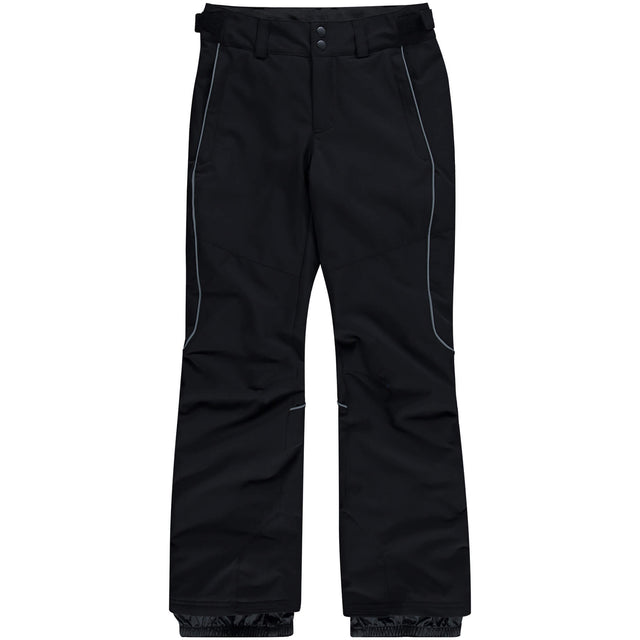 Girls Charm Regular Snow Pants - Black Out