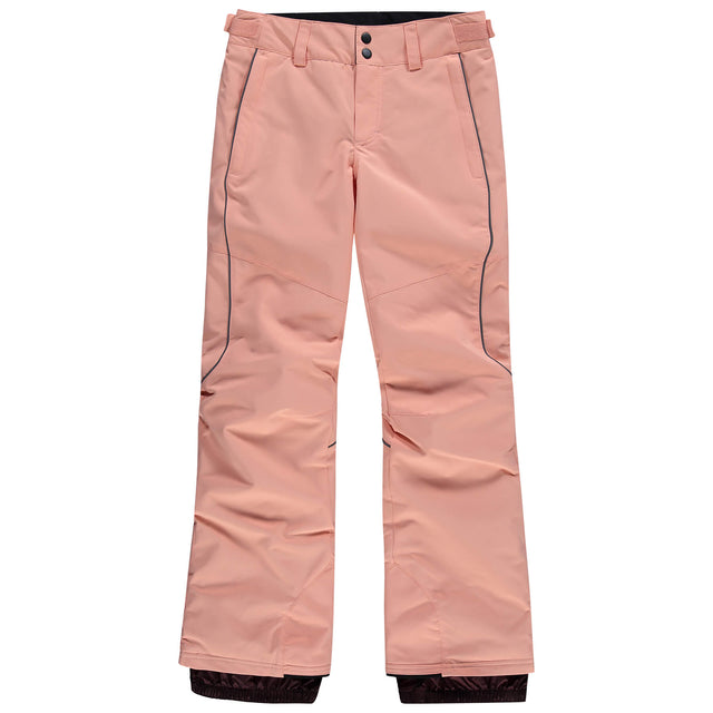Girls Charm Regular Snow Pants - Salmon