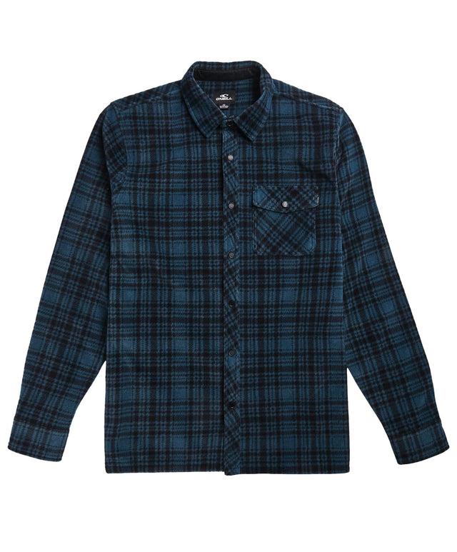 Glacier Peak Flannel Shirt - Cadet Blue