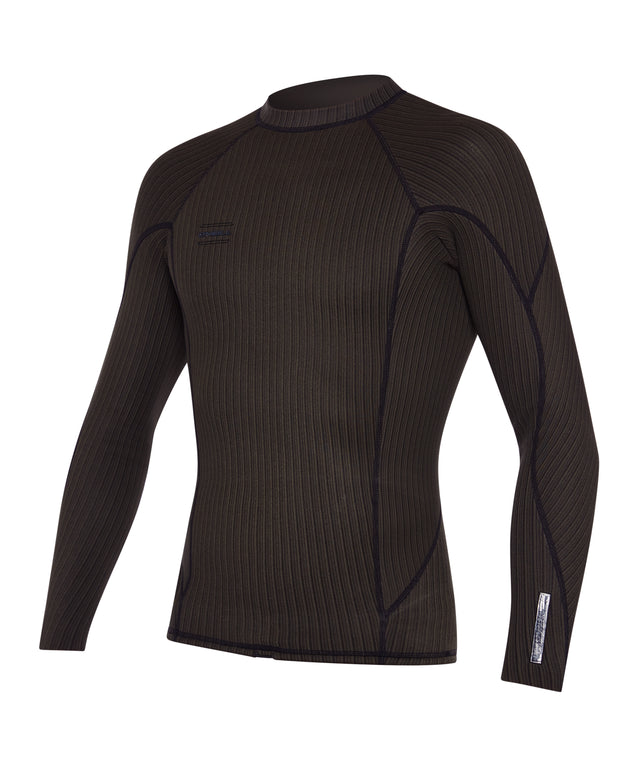 Hyperfreak 1.5mm TB3X Long Sleeve Wetsuit Jacket - Raven
