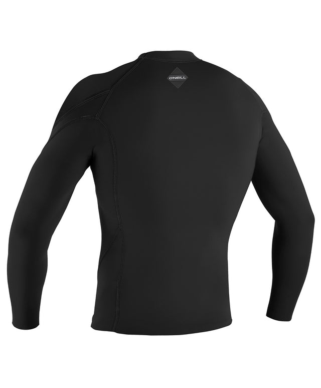 Hyperfreak 1.5mm LS Crew - Black