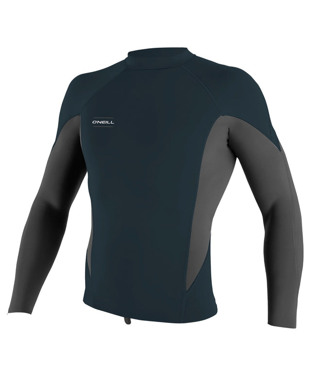 Hyperfreak 1.5mm Long Sleeve Wetsuit Jacket - Slate/Graphite