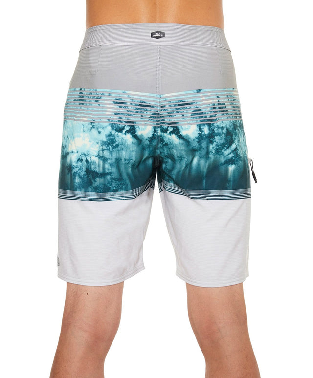 Hyperfreak Boardshort - Grey Aop