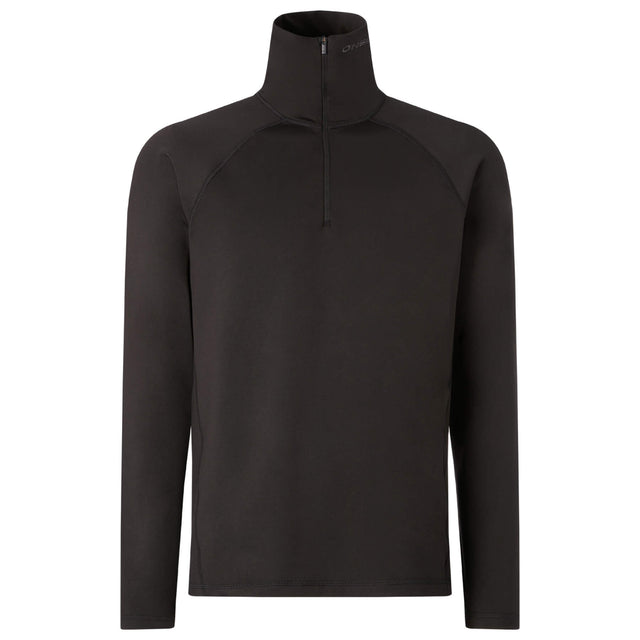 Mens Clime Half Zip Snow Fleece - Black Out