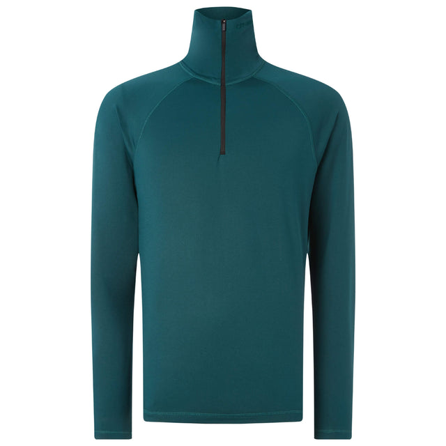 Mens Clime Half Zip Snow Fleece - Panderosa Pine