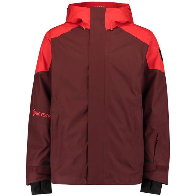 Mens GTX 2L Shred Freak Snow Jacket - Bitter Chocolate