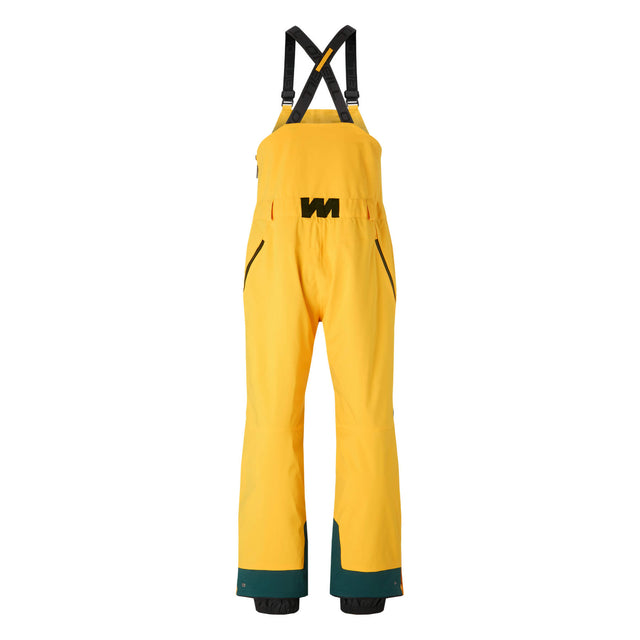 Mens Original Bib Snow Pants - Old Gold