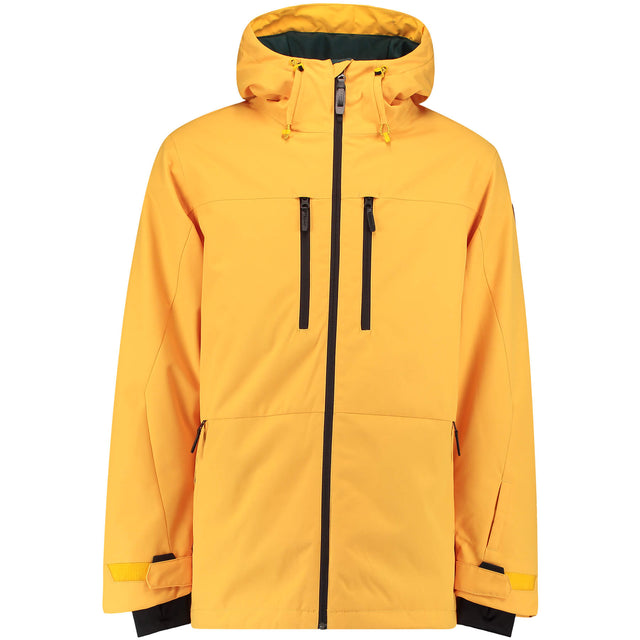 Mens Phased Snow Jacket - Old Gold